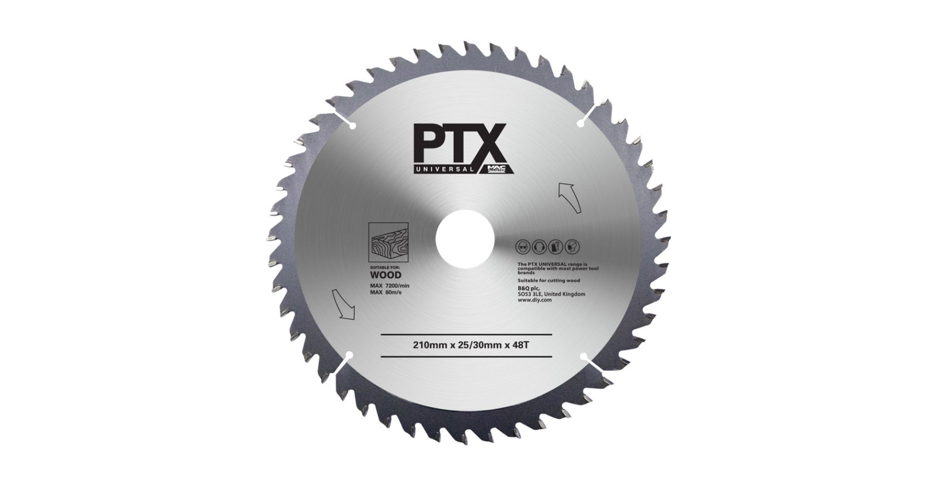 PTX HCS Multi Tool Plunge Blade for Wood 32 x 40mm Universal Fit